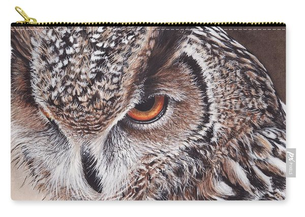 Bengal Eagle Owl Carry-all Pouch