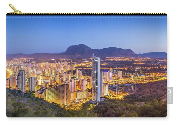 Benidorm At Sunrise, Spain. Carry-all Pouch