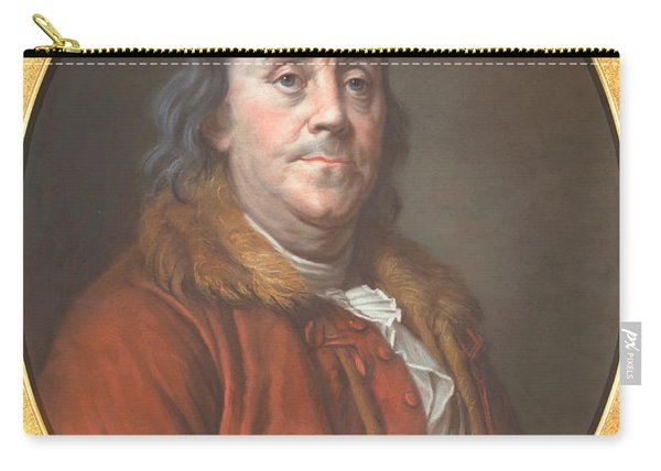 Benjamin Franklin Carry-all Pouch