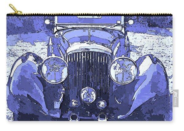 Bentley Blue Pop Art P2 Carry-all Pouch