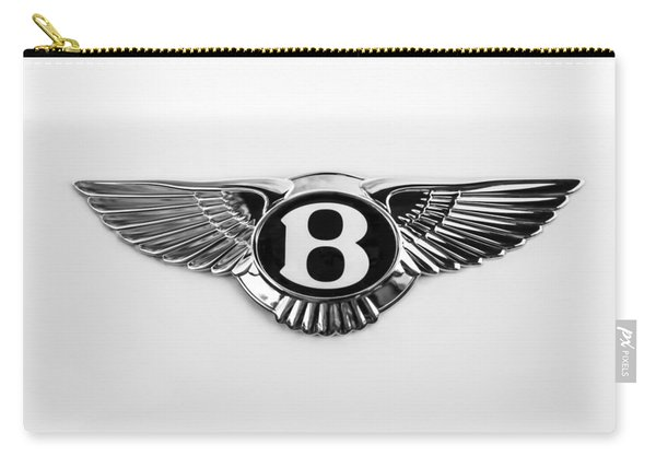 Bentley Emblem -0081bw Carry-all Pouch