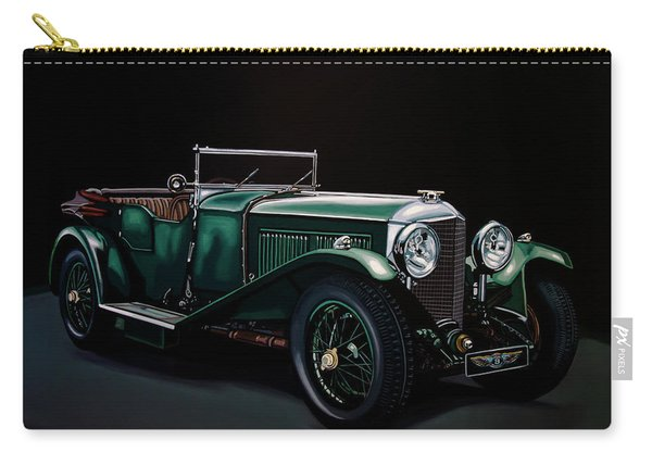 Bentley Open Tourer 1929 Painting Carry-all Pouch