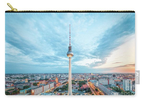 Berlin Twilight Panorama Carry-all Pouch