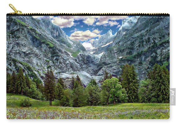 Bernese Alps Landscape Carry-all Pouch