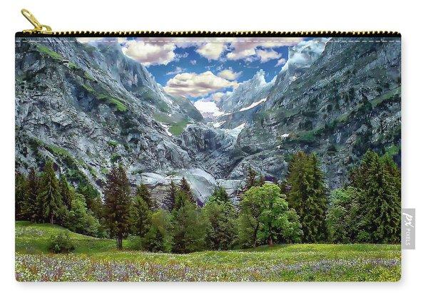 Bernese Alps Landscape Carry-all Pouch