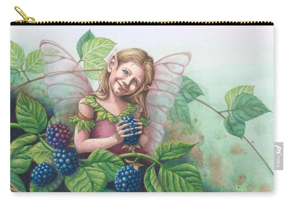 Blackberry Fairie Carry-all Pouch