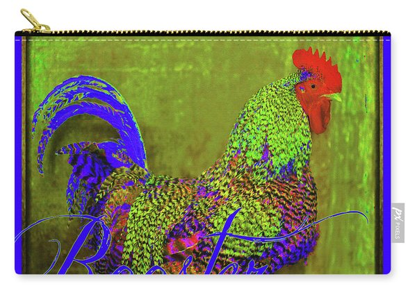 Bert The Rooster Carry-all Pouch