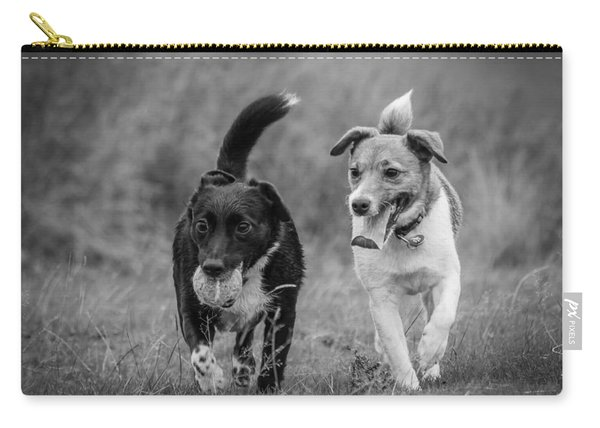 Carry-all Pouch featuring the photograph Best Buddies by Nick Bywater
