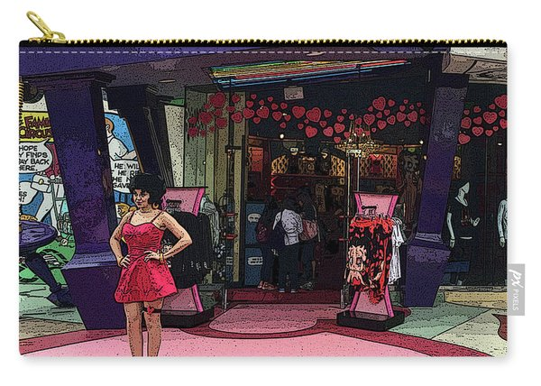 Betty Boop Carry All Pouches Fine Art America