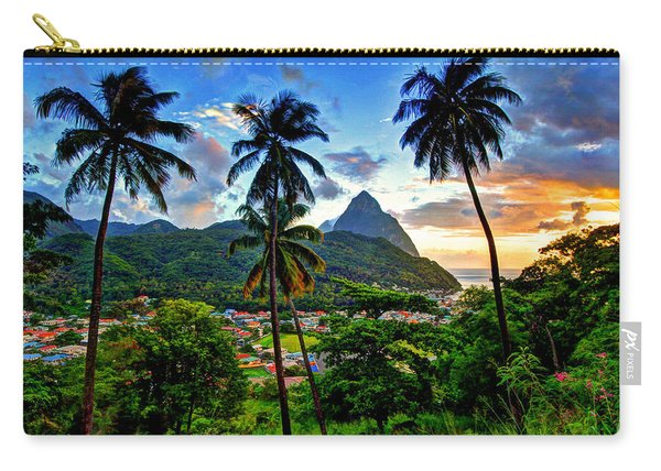 Between The Palm Trees Carry-all Pouch