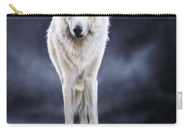 'between The White And The Black' Carry-all Pouch