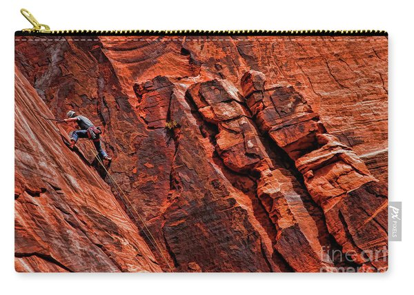 Between Two Cliffs Carry-all Pouch