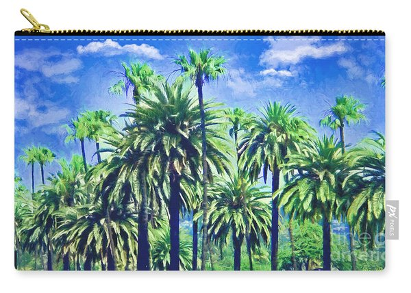 Beverly Hills Palms Carry-all Pouch