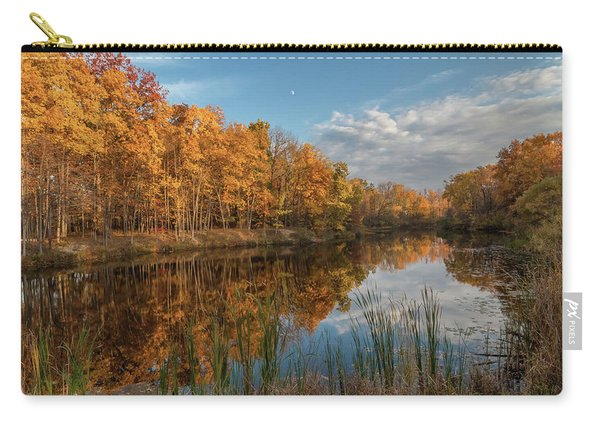 Beyer's Pond In Autumn Carry-all Pouch