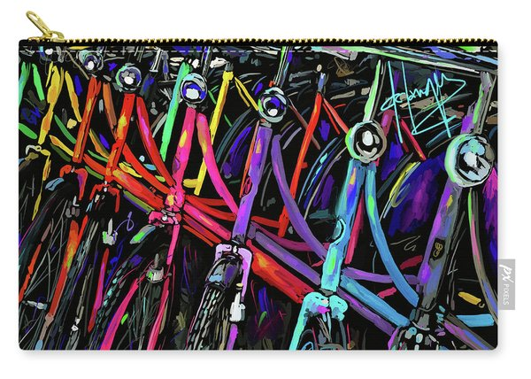 Bicycles In Amsterdam Carry-all Pouch