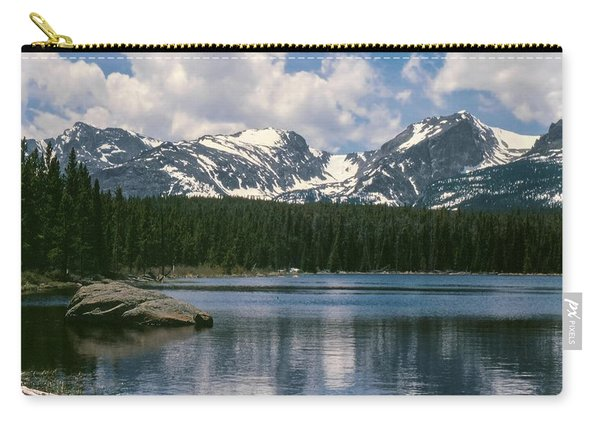 Bierstadt Lake Hallett And Otis Peaks Rocky  Mountain National Park Carry-all Pouch