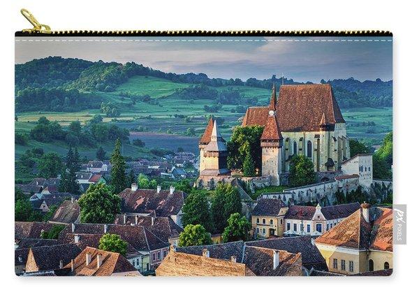 Biertan Church Dawn - Romania Carry-all Pouch