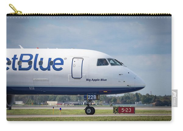 Big Apple Blue Carry-all Pouch