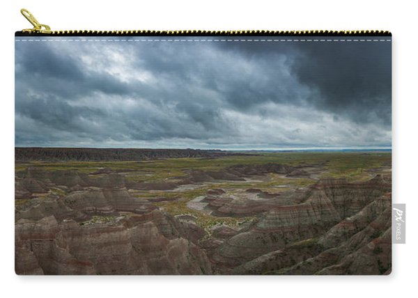 Big Badlands Overlook Panorama 2  Carry-all Pouch