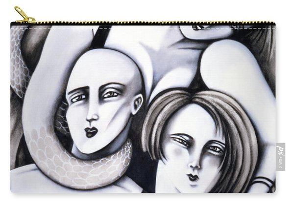 Big Bald And Boa Carry-all Pouch