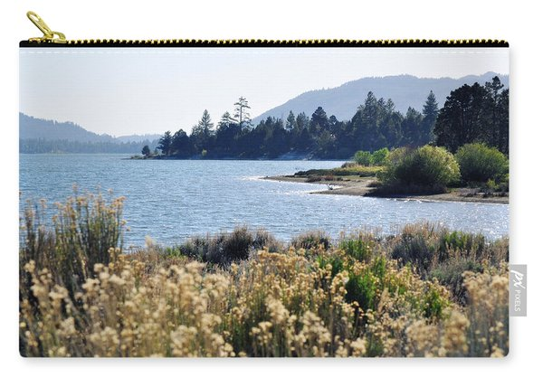 Big Bear Lake Shoreline Carry-all Pouch
