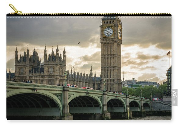 Big Ben At Sunset Carry-all Pouch