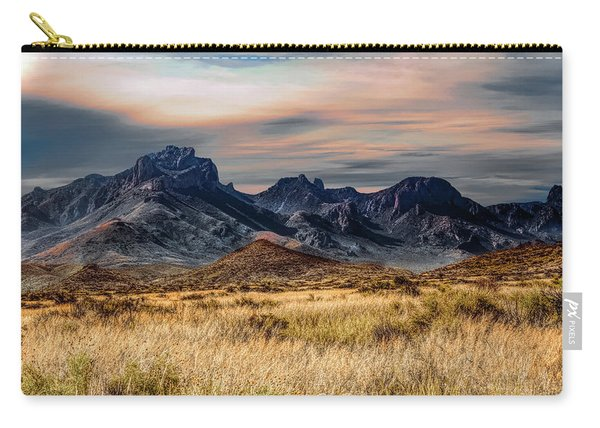 Big Bend Hill Tops Carry-all Pouch