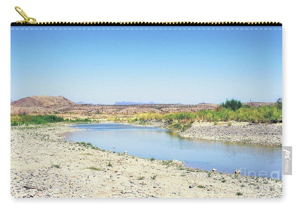 Big Bend's Rio Grande River Carry-all Pouch