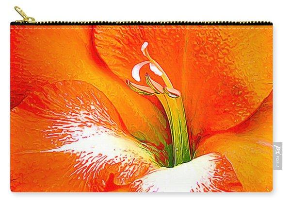 Big Glad In Bright Orange Carry-all Pouch