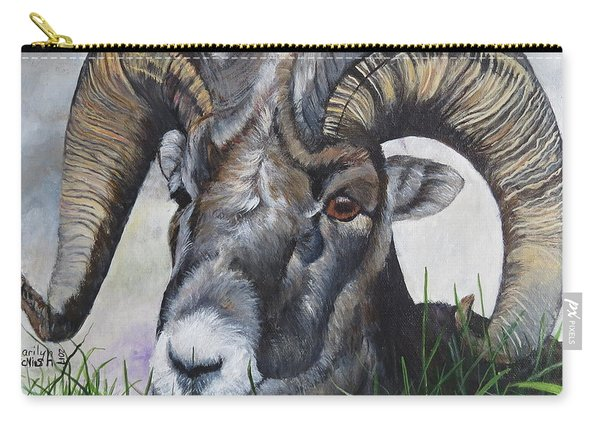 Big Horned Sheep Carry-all Pouch