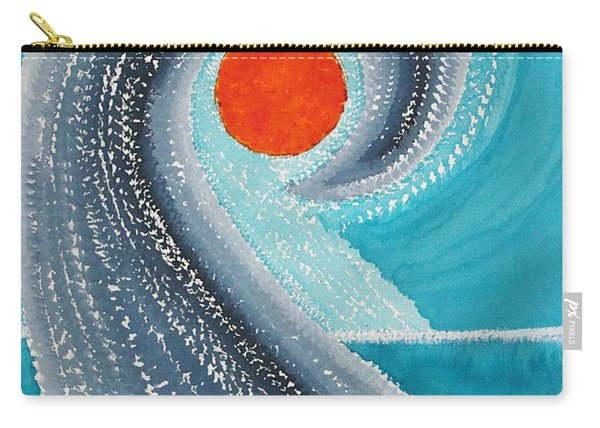 Big Kahuna Original Painting Carry-all Pouch