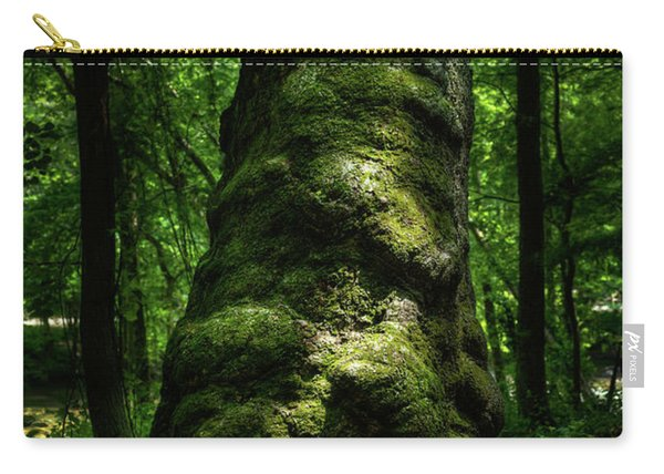 Big Moody Tree In Forest Carry-all Pouch