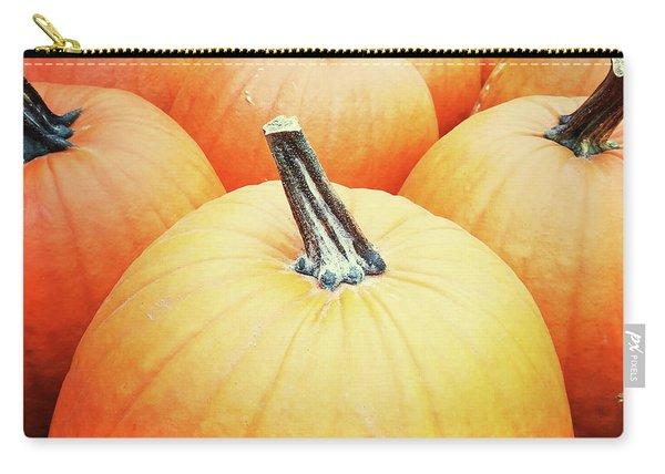 Big Orange Pumpkins Carry-all Pouch