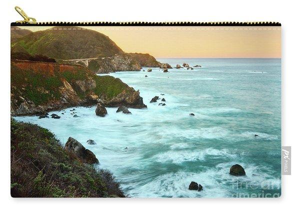 Big Sur Sunrise Carry-all Pouch