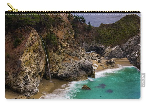 Big Sur Waterfall Carry-all Pouch