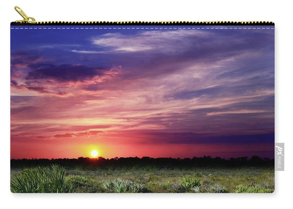 Big Texas Sky Carry-all Pouch