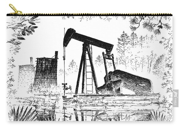 Big Thicket Oilfield Carry-all Pouch