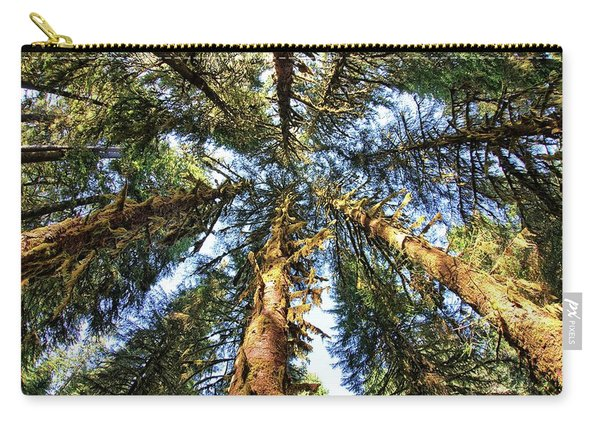 Big Trees In Olympic National Park Carry-all Pouch