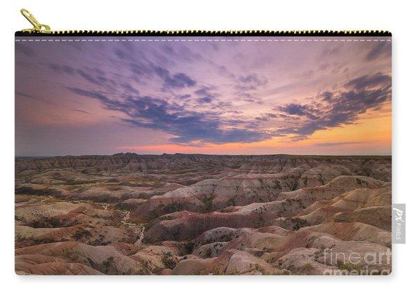 Bigfoot Overlook Sunset At Badlands South Dakota Carry-all Pouch