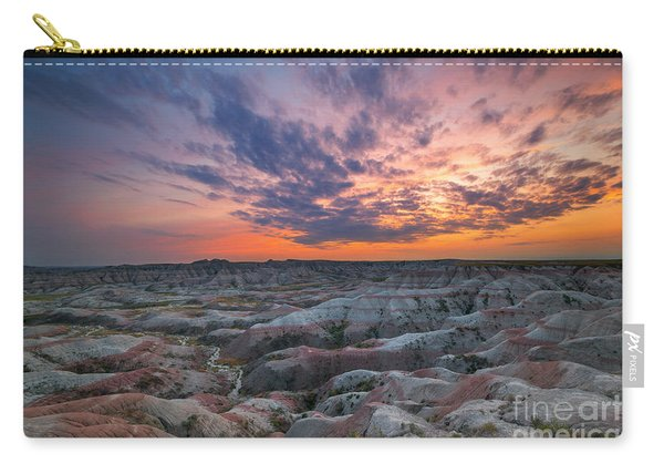 Bigfoot Overlook Sunset  Carry-all Pouch