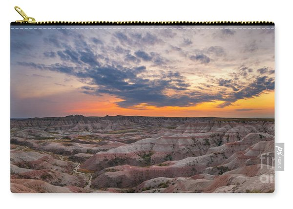 Bigfoot Overlook Sunset Panorama Carry-all Pouch