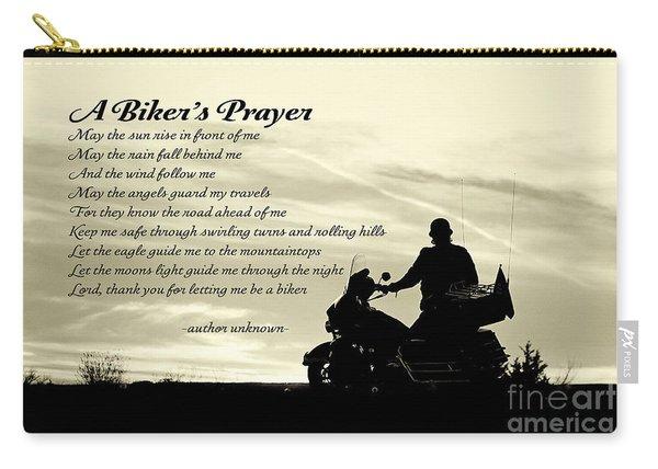 Biker's Prayer Carry-all Pouch