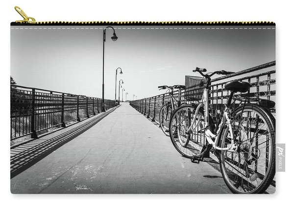 Bikes And Fences. Carry-all Pouch