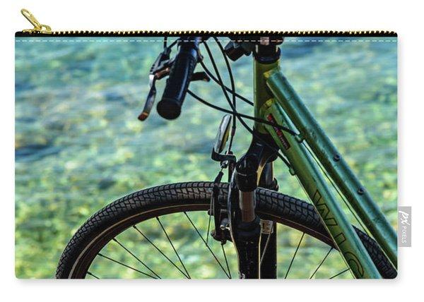 Biking The Rovinj Coastline - Rovinj, Istria, Croatia Carry-all Pouch