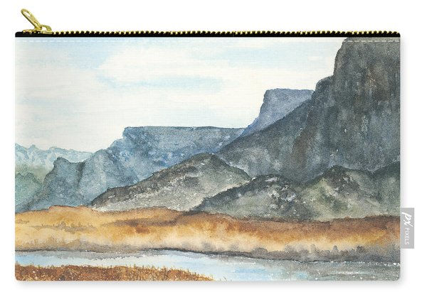 Bill Williams River Carry-all Pouch