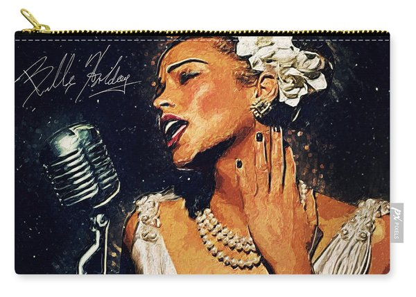 Billie Holiday Carry-all Pouch