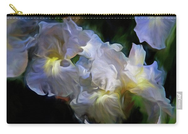 Billowing Irises Carry-all Pouch