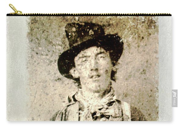Billy The Kid Wanted Poster Carry-all Pouch