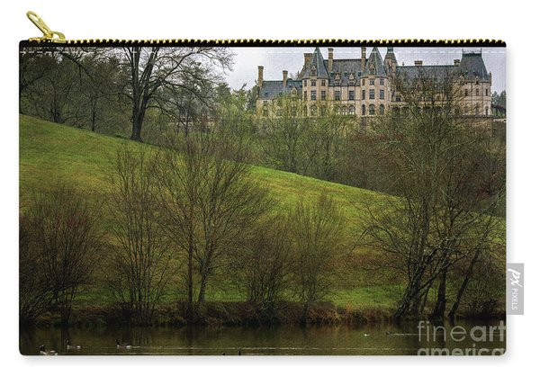 Biltmore Estate At Dusk Carry-all Pouch