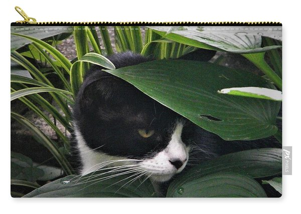Binx Our Feral Cat Carry-all Pouch